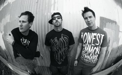 Spielen erst 2012: Blink-182