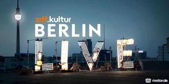 Berlin Live, das Format von ZDF Kultur für Jüngere