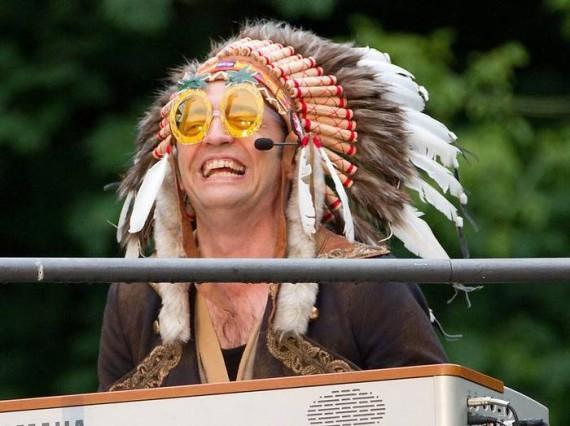 Rainald Grebe Waldbühnen-Konzert 2011
